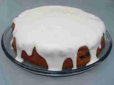 apple cinnamon cake eggless