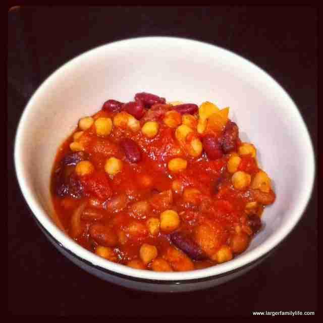 Slow Cooker Bean Chilli Recipe