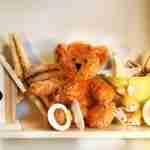 little rusty teddy bear