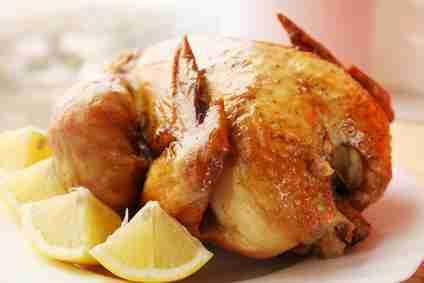 chicken and lemon