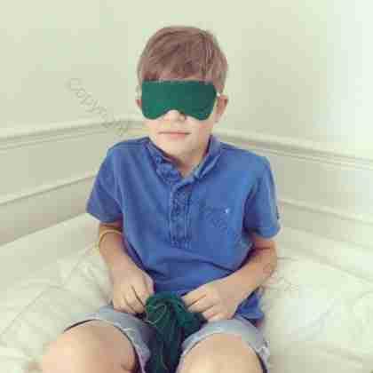 Eddie's finished eye mask