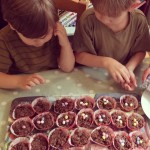 Joseph and Paddy Easter Nests