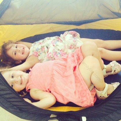 The NSA Travel Centre is ideal when you need a travel cot for older toddlers and pre-schoolers