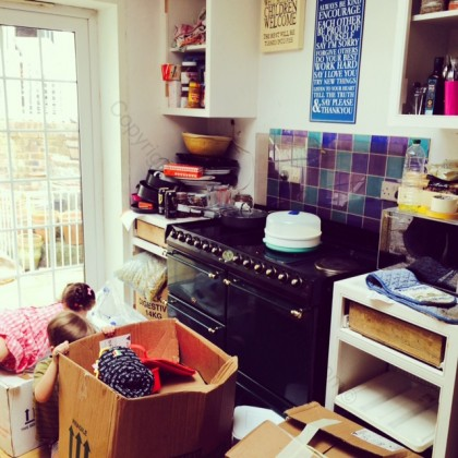 We thought that the kitchen was chaotic enough then...