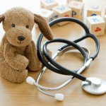 stethoscope and toy