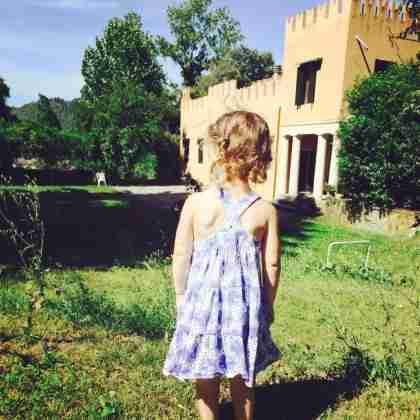 Anna facing villa zadra