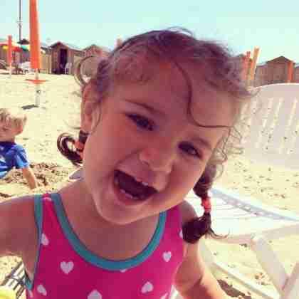 ...to fun at the beach...