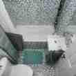 Small, moderm bathroom