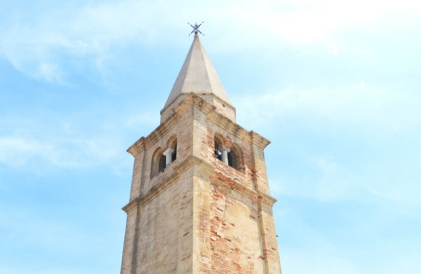 The Shrine of Our Lady of the Angel belltower Caorle