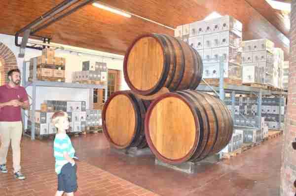 barrels of grappa