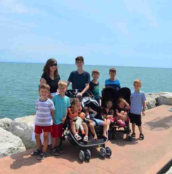 sullivan family in Caorle