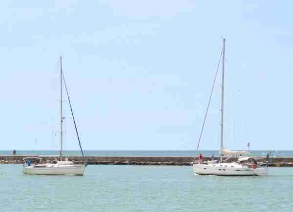 boats at Caorle