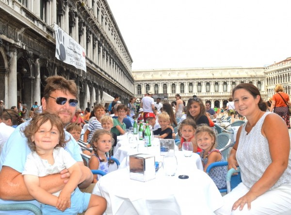 Sullivan family in Venice 2015