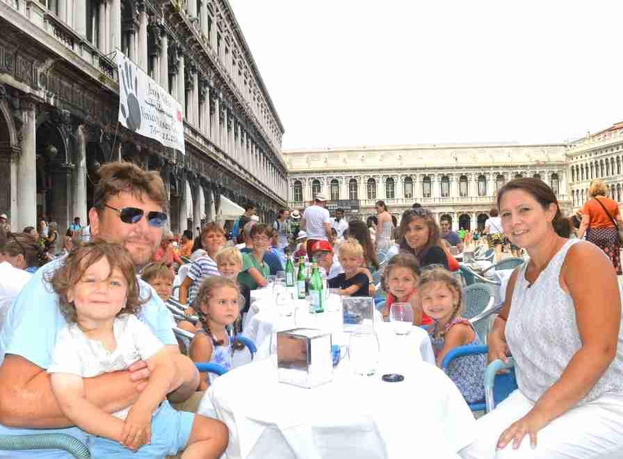 Sullivan family in Venice 2015