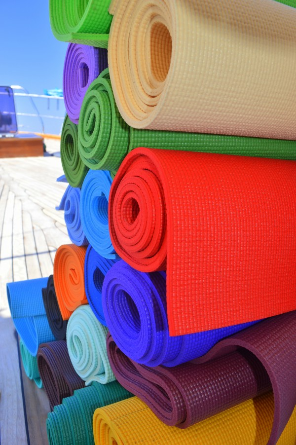 Excercise mats. Or sleep mats. Whatever you prefer.