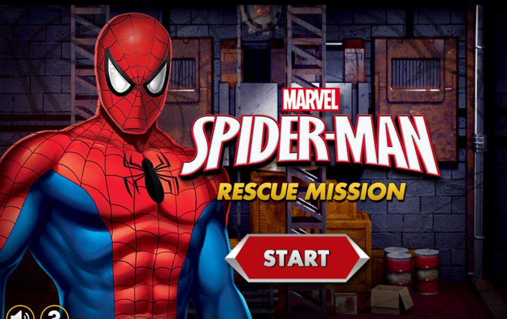 Spiderman rescue mission