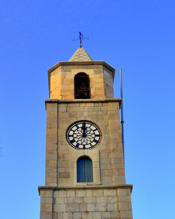 Symi clock tower