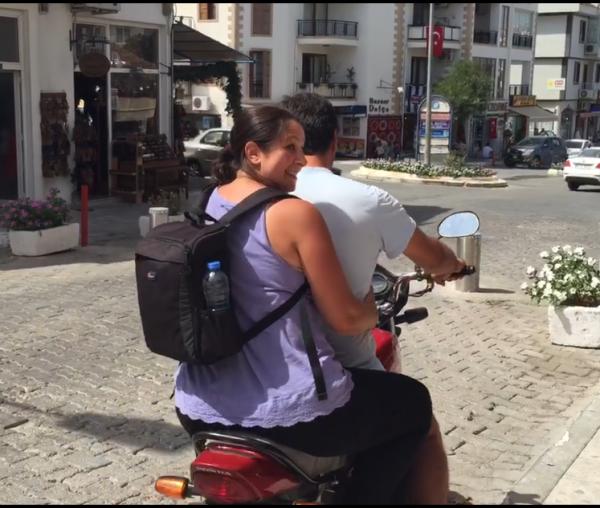 Tania Datca Bike 2
