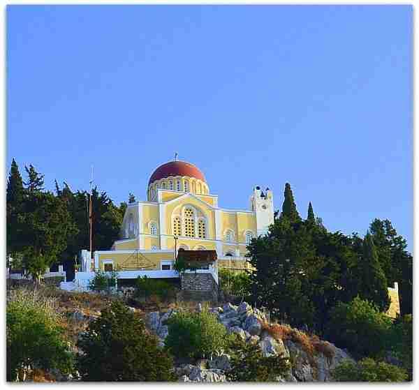 symi chapel on the hill, church of the annunciation, symi, simi