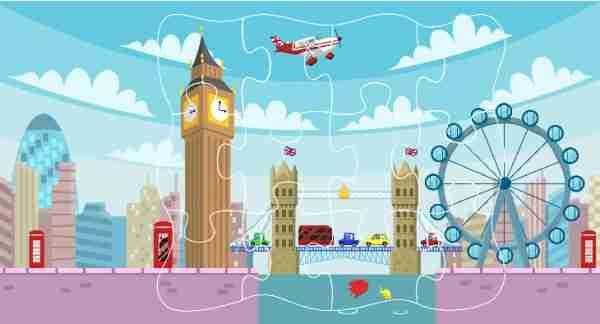 Travel Playtime jigsaw