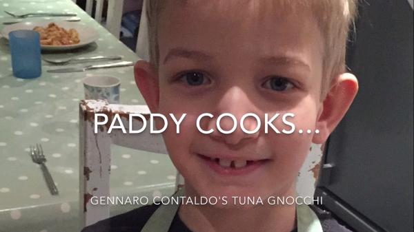 paddy cooks tuna gnocchi