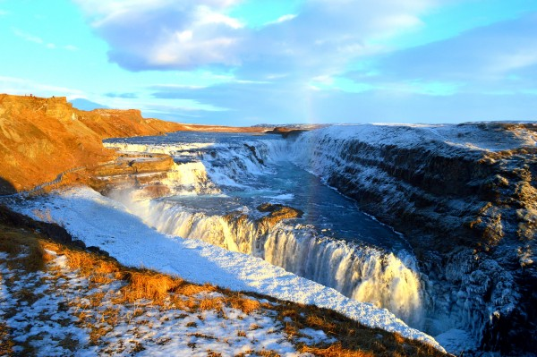 The Gulfoss Waterfall was undoubtedly my favourite sight