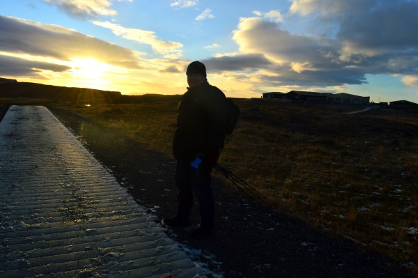 Another stunning sunset over Iceland