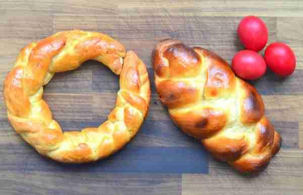 Tsourkeki Greek Easter Bread Recipe