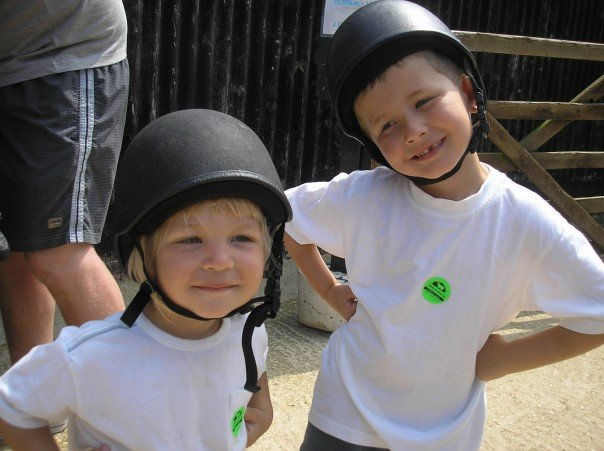 harry and eddie 2007 riding hats