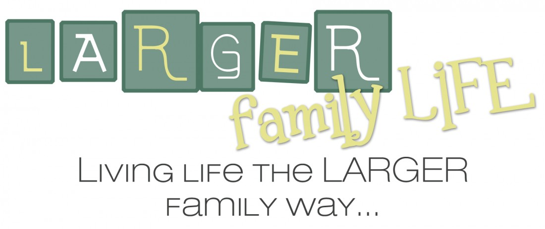 Larger Family Life – Living Life the Large Family Way