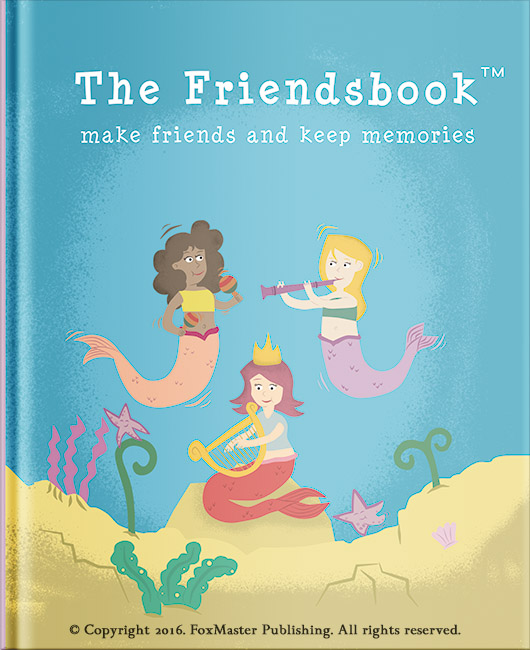 Our Friend Ship Its A Lofe Long Memories For Mi: Friendsbook: Helping Kids Keep Memories Forever