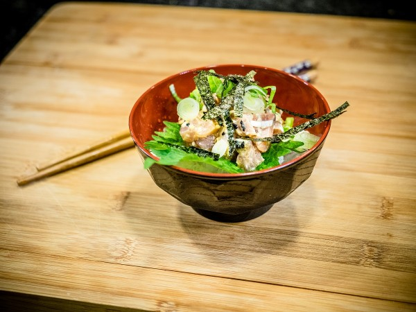 Mackerel Tataki