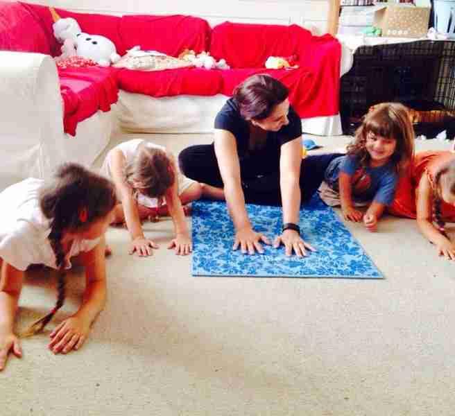 tania and kids ddp yoga