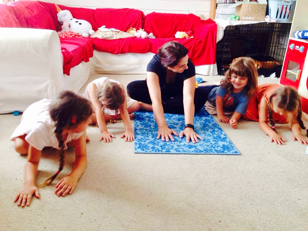 tania and kids ddp yoga