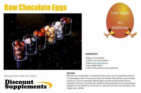 Raw Chocolate Eggs
