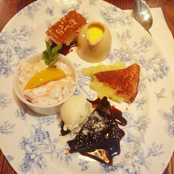 fr pudding platter