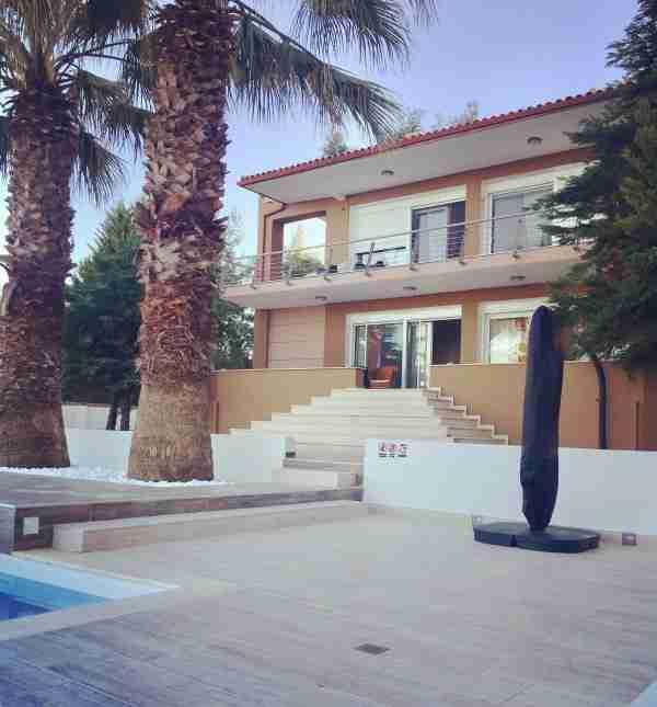 Greece Halkidiki luxurious villa anna maria
