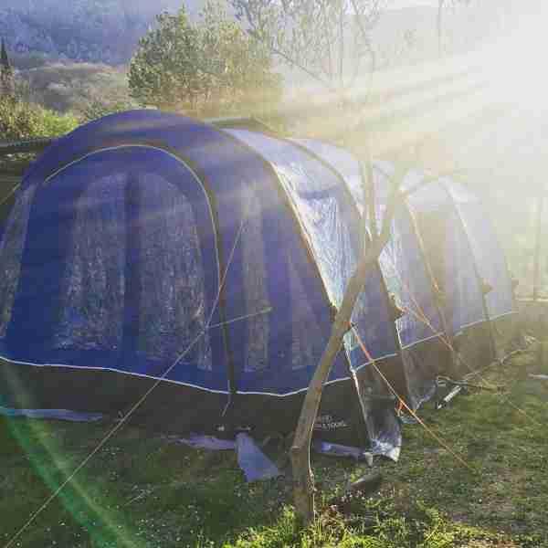 montenegro camping tent
