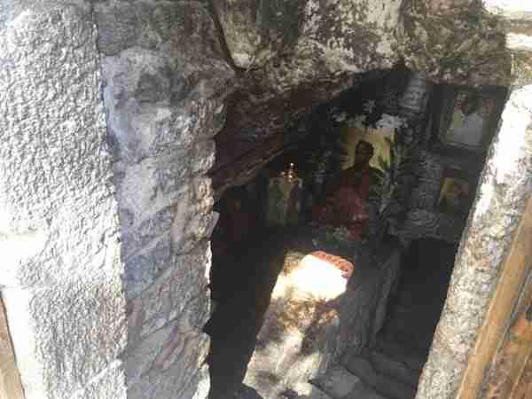 st pauls cave church entrance