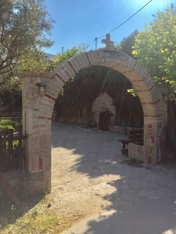 st pauls cave church halkidiki arch - Copy