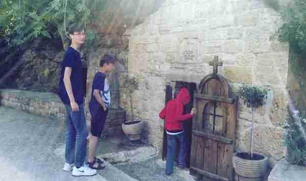 st pauls cave church small doorway - Copy