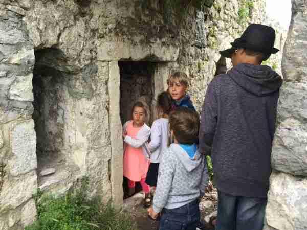 rozafa castle chamber entrance