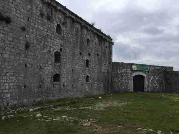 rozafa castle fortifications