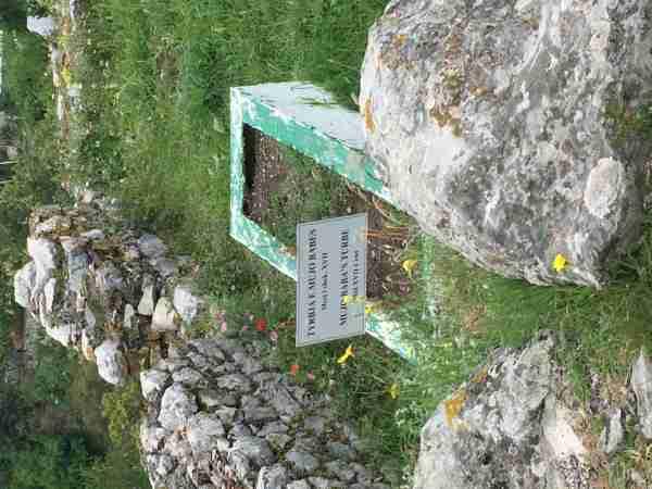 rozafa castle grave