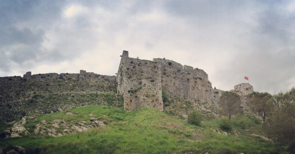 rozafa castle panorama
