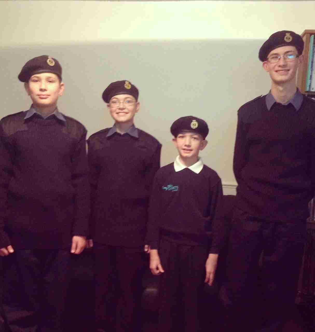 Sullivan boys sea cadets