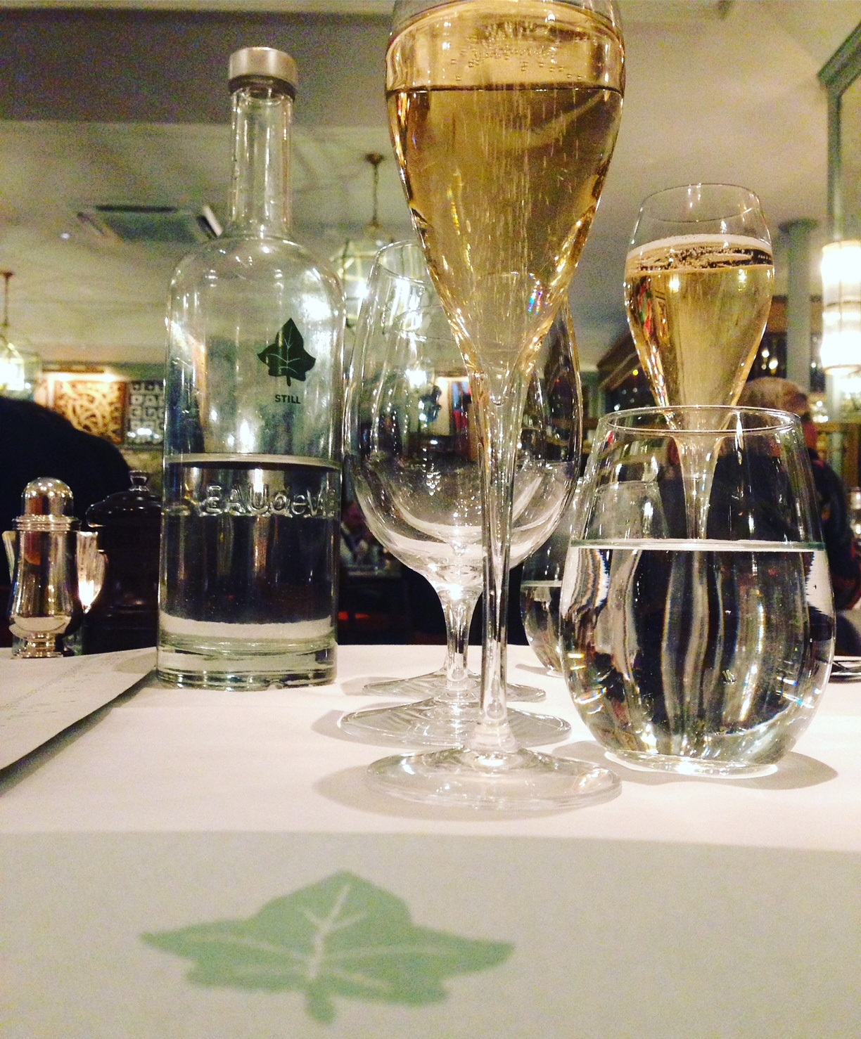 the ivy champagne