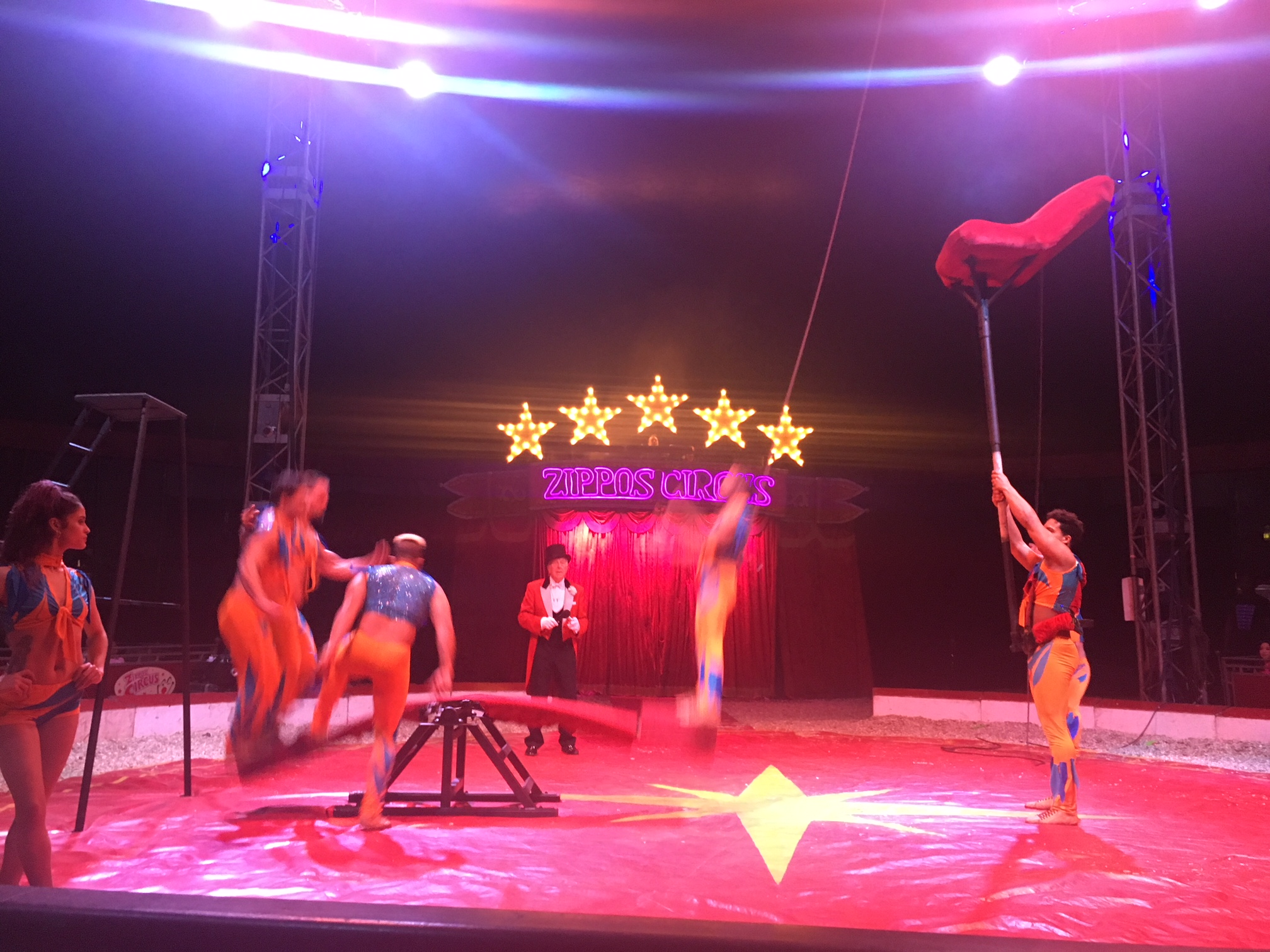 Zippos Circus Hermansito Troupe 2