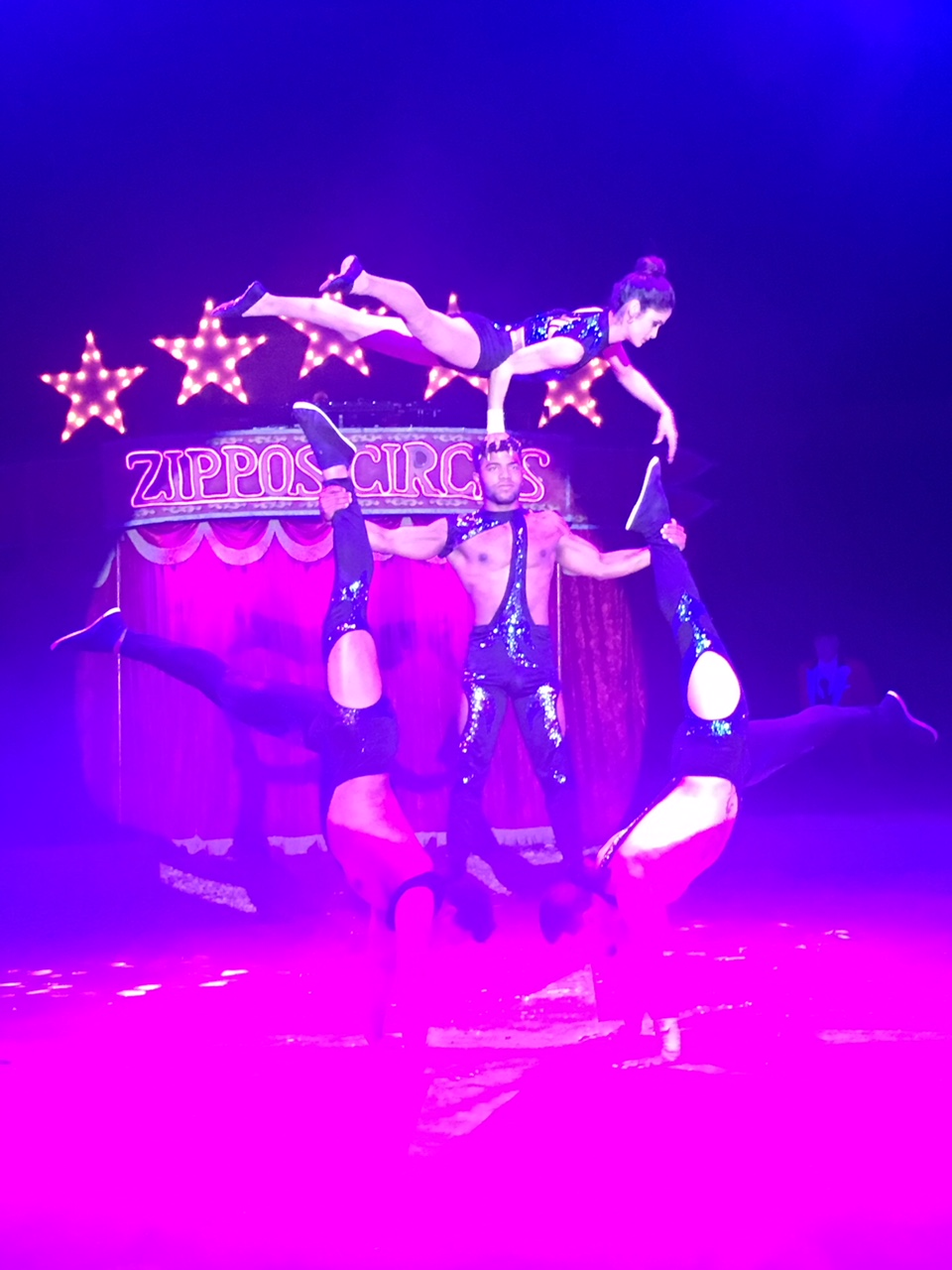Zippos Circus Troupe Havana contortion and acrobatic adagio