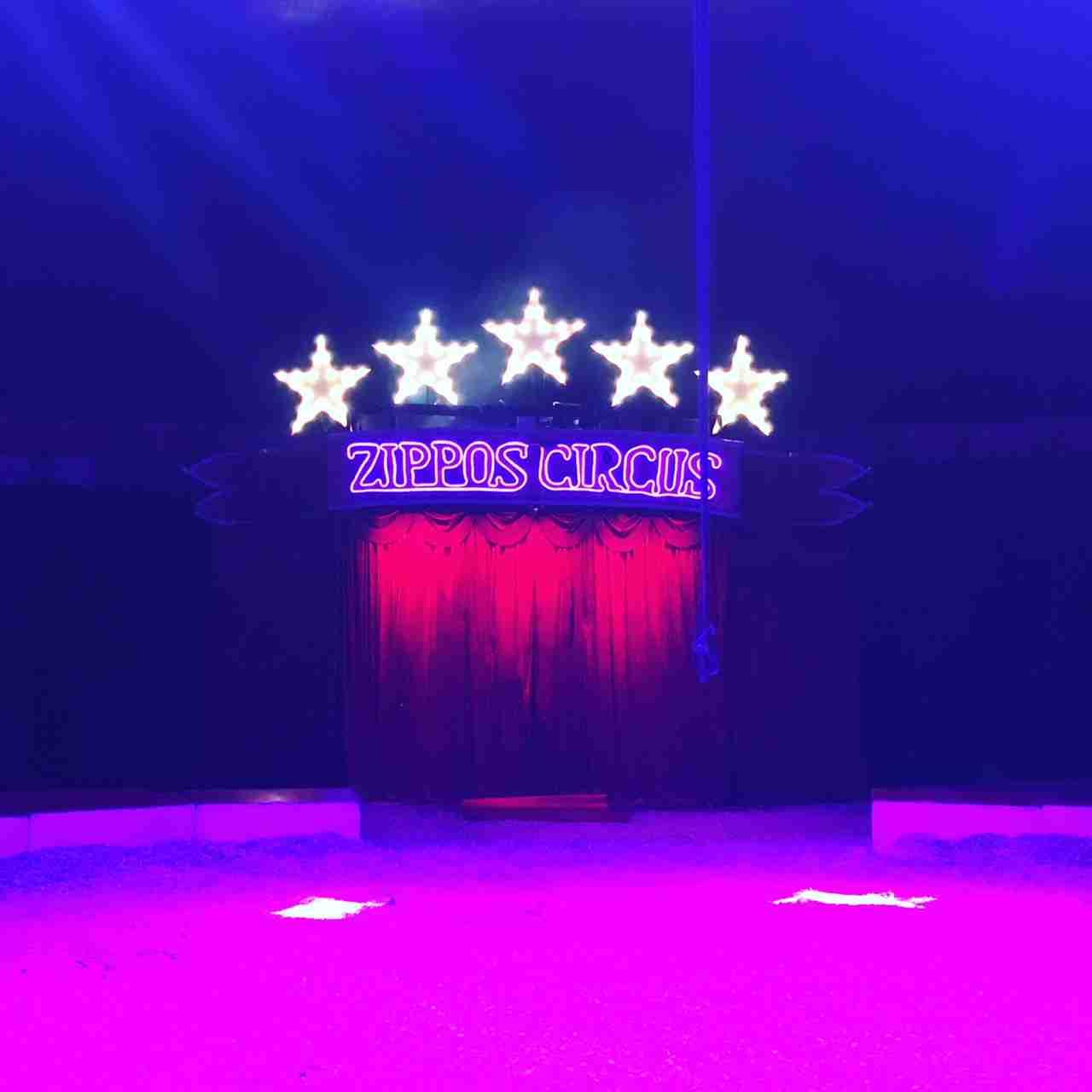 Zippos Circus ringside seats